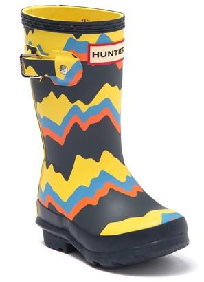 Hunter Original Storm Stripe Wellington Boot (Little Kid)