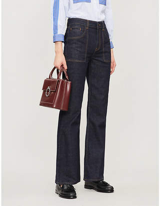 Claudie Pierlot Flared mid-rise jeans