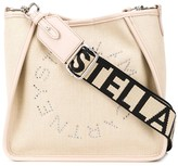 Stella McCartney Stella Logo crystal-embellished shoulder bag