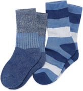 Cuddl Duds 2-pk. Climate Smart Twist Socks- Boys