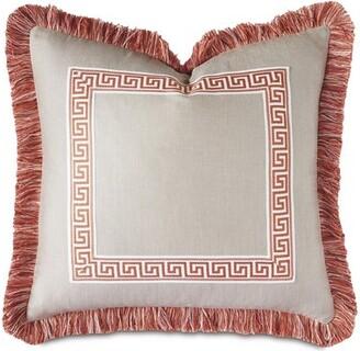 Alexa Hampton Eastern Accents Flynn Pearl Border Decorative Throw Pillow Eastern Accents