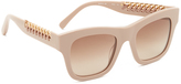Stella McCartney Chain Square Sunglasses