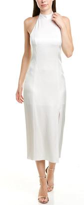 Alice + Olivia Regina Halter A-Line Dress