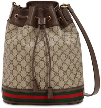 Gucci Gg Supreme Ophidia Shoulder Bag