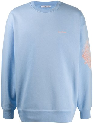 Acne Studios Mandala-print sweatshirt