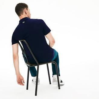 Lacoste Men's Regular Fit Embroidered- Logo Cotton Pique Polo Shirt