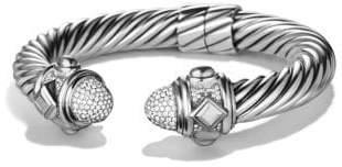David Yurman Renaissance Bracelet With Diamonds, 10Mm