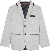 HUGO BOSS Elbow patch cotton-blend blazer 4-16 years