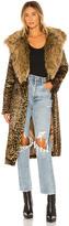 Show Me Your Mumu Minnelli Faux Fur Jacket