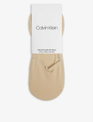 Calvin Klein Cotton-blend loafer socks