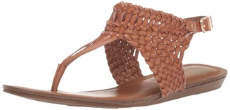 Fergalicious Women's Senorita Flat Sandal tan 7 M US