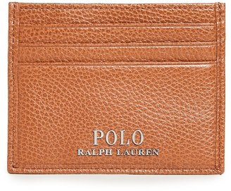 Polo Ralph Lauren Tailored Pebble Leather Card Case
