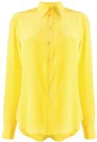 Ralph Lauren silk pointed collar shirt