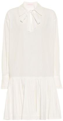 See by Chloe Drop-waist cotton minidress
