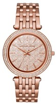 Michael Kors MK3399 Rose Gold Stainless Steel with Rose Gold Tone Dial 39mm Womens Watch