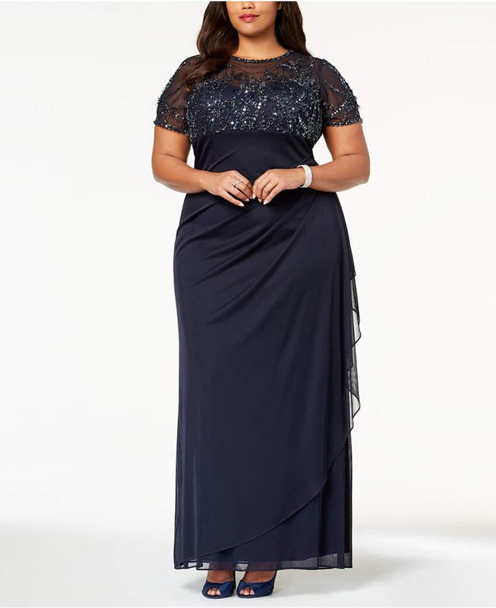 Xscape Plus Size Evening Dresses - ShopStyle