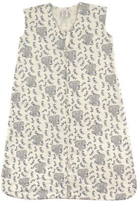 Touched by Nature Boys' Infant Sleeping Sacks Elephant - Gray Elephant Organic Cotton Wearable Blanket - Newborn & Infant