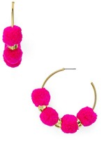 BaubleBar Havana Hoop Earrings