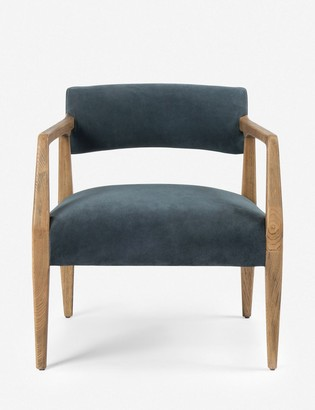 Lulu & Georgia Larabee Accent Chair, Blue