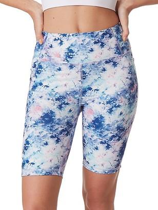 X By Gottex Active Tie Dye Biker Shorts