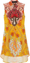 Thakoon Western silk-crepe shirt dress