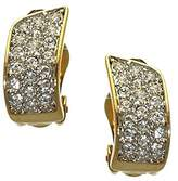 AJ Fashion Jewellery Ilaria Plated Crystal Clip On Earrings