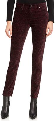 AG Jeans Farrah High-Rise Velvet Skinny Jeans