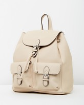 Mng Pebbled Backpack