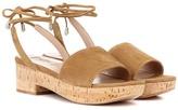 Valentino Garavani suede and cork sandals