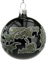 Briefing Baroque Glitter Glass Ball Ornament