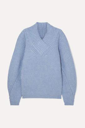 KHAITE Carlito Cashmere Sweater - Blue