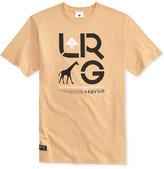 Lrg Men's Cluster Graphic-Print Logo Cotton T-Shirt