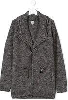 Karl Lagerfeld Teen chunky knit cardigan