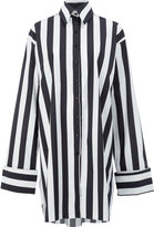 Marques Almeida Marques'almeida - striped shirt - women - Cotton - XS