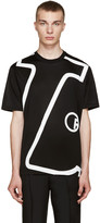 Lanvin Black 'L' T-Shirt