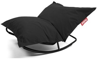 Fatboy Medium Outdoor Friendly Bean Bag Chair Fabric: Black Nylon