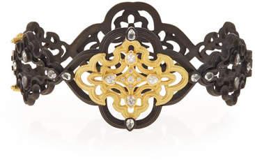Armenta Old World Scroll Bracelet with Diamonds