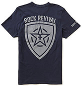 Rock Revival Reflective Shield Short-Sleeve Pocket Graphic Tee