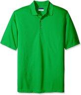 PGA TOUR Men's Big-Tall Golf Air Flux Short Sleeve Polo Shirt