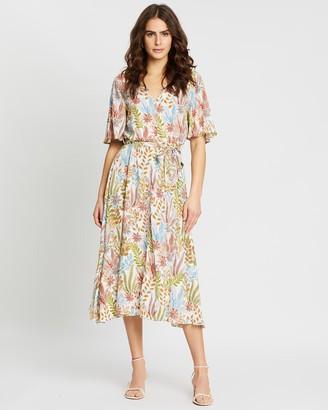 Y.A.S Botanica Midi Dress
