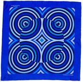 Turnbull & Asser Printed Silk Pocket Square