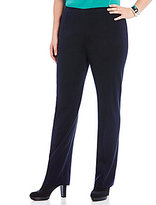 Ming Wang Plus Knit Pull-On Pants