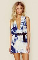 Blue Life sleeveless shirt dress