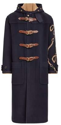 Ralph Lauren Equestrian Hooded Toggle Coat
