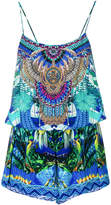 Camilla tropical print playsuit