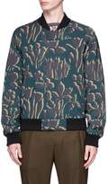Wooyoungmi Floral print reversible bomber jacket