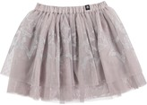 Molo Youth Girl's Benete Skirt - Silver Stars