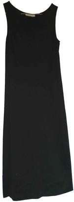 CNC Costume National Black Cotton Dress for Women