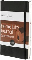 "Moleskine Passion Hard Cover Journal - Homelife - Black - 5"" x 8.25"""