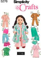 Simplicity Sewing Pattern 5276 Doll Clothes, One
